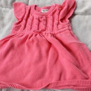 Cherokee 6 months sweater dress